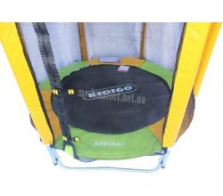 Батут KIDIGO™ 140 см. с защитной сеткой BT140 2