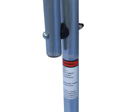 Батут KIDIGO™ 140 см. с защитной сеткой BT140 5