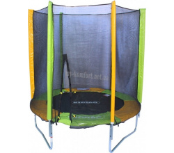 Батут KIDIGO™ 183 см. с защитной сеткой BT183 1