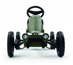 Веломобиль Berg Jeep Adventure pedal go-kart 1